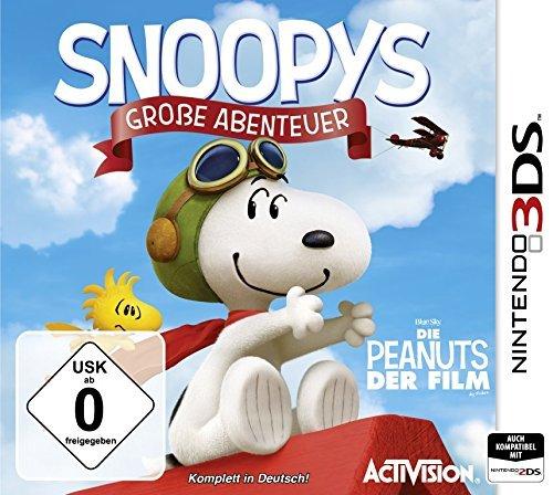 (Amazon Prime) Snoopys Große Abenteuer - Nintendo 3DS für 19,- EUR