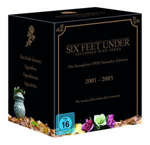 Six Feet Under - Die komplette Serie (25 DVDs) für 34,97€ bei Amazon.de