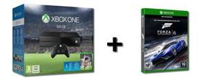 (Redcoon) Xbox One - 500 GB (inkl Fifa 16 DL + Forza 6 Discversion + 1 Monat EA Access) für 303,99 EUR