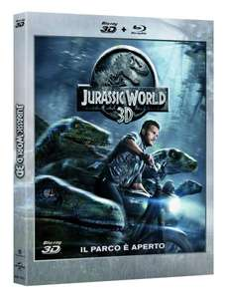 Jurassic World (3D Blu-ray + Blu-ray) für 17,04€ bei Amazon.it