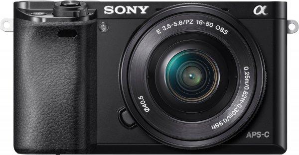 Sony Alpha 6000 Kit 16-50 mm für 518,20 € bei Comtech.de