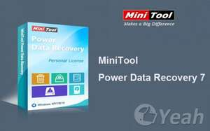 MiniTool Power Data Recovery Vollversion kostenlos (sonst 69€)