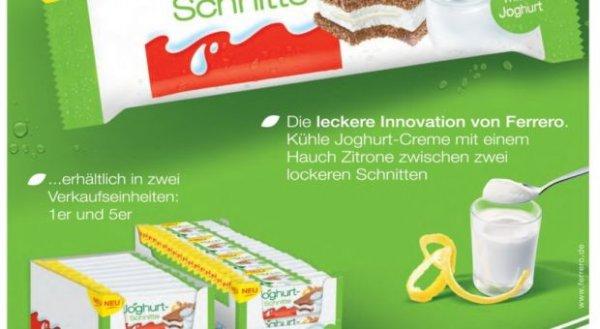 (München Lokal) Joghurt Schnitte @V-Markt