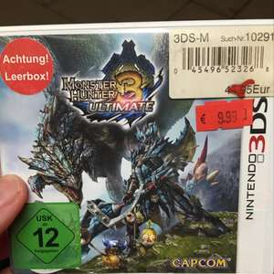 Monster Hunter Ultimate 3 für Nintendo 3ds Bei real Hamburg Lurup