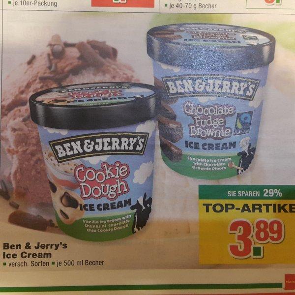 Ben & Jerry's Eis 500ml. versch. Sorten [Handelshof 05.03 - 11.03]