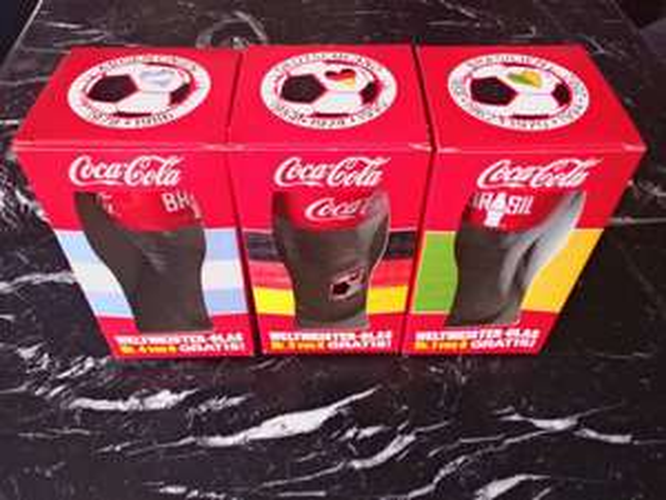 [Edeka Bernau Bahnhofspassage] Coca Cola Weltmeisterglas gratis