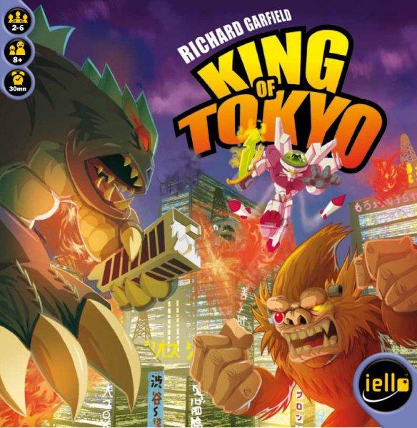 King of Tokyo + Halloween/Power Up Erweiterung (Brettspiel, Gesellschaftsspiel, Spiele-Offensive.de)