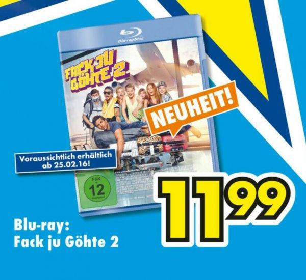 [EURONICS Sindelfingen] Fack Ju Göhte 2 Blu-Ray  ab 25.02.2016