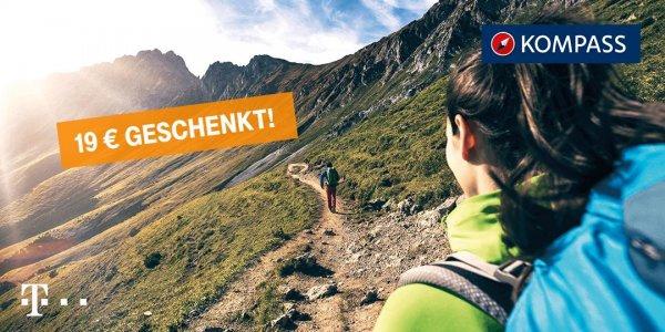Premium-Version der KOMPASS App kostenlos (für Telekom Kunden)
