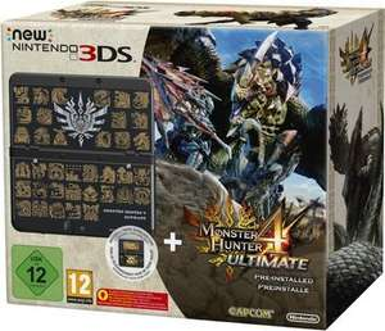 Nintendo New 3DS + Monster Hunter 4 Ultimate Pack für 159,30€ bei Bücher.de