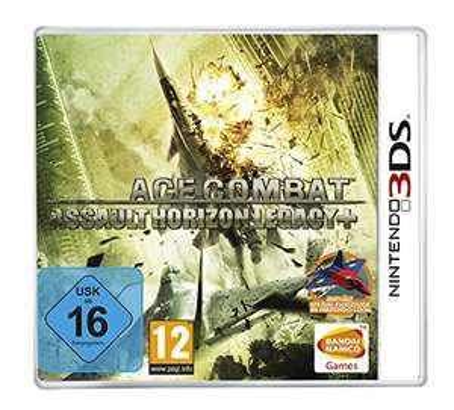 Super 3DS Fliegerspiel: Ace Combat - Assault Horizon Legacy