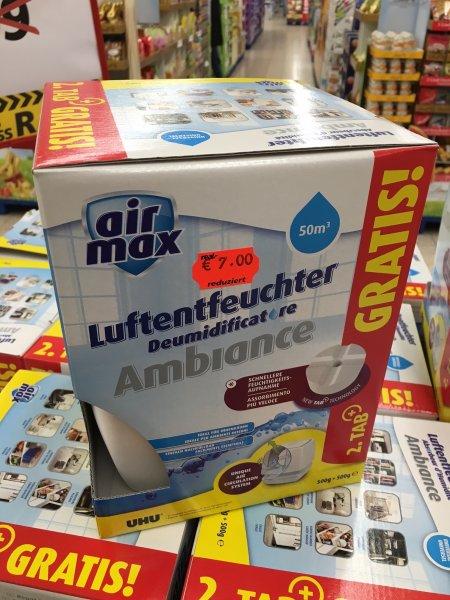 [LOKAL Real-Krefeld] UHU airmax Luftentfeuchter Ambiance inkl. zweitem Tab (weiß)
