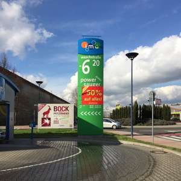 Lokal Schwetzingen - IMO Waschstraße 50% auf alles