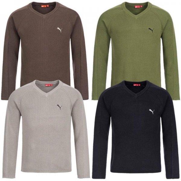 Puma Herren V-Neck Sweatshirt