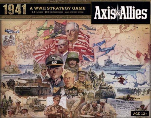 Axis & Allies 1941 (Brettspiel, Gesellschaftsspiel, Tabletop, Spiele-Offensive.de)
