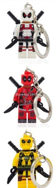 [Aliexpress] Deadpool-Schlüsselanhänger im Lego-Stil für 1,80€ oder nur als Figur für 0,72€