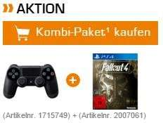 Microsoft Xbox One Controller (2015) oder PS4 Dualshock jeweils inkl. Fallout 4 für 79,99 € @ Saturn Latenight Shopping
