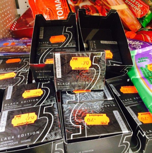 Real Darmstadt 5 Gum Black Edition Restposten