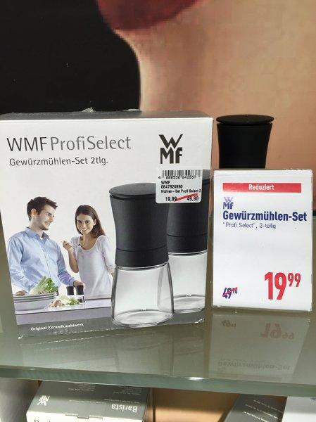 [Lokal Kaltenkirchen; Dodenhof] WMF Gewürzmühlen-Set ProfiSelect (Trend) schwarz 2-tlg