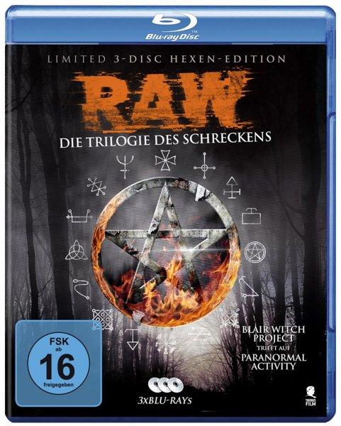 Raw - Die Trilogie des Schreckens (3 Blu-rays) für 11,99€ bei Media Markt