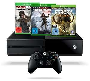 [Amazon Tagesdeal] Xbox One Rise of the Tomb Raider Bundle + Far Cry Primal