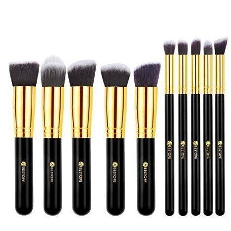 [Amazon Prime] BESTOPE 10 Stück Professionelle Makeup Pinsel für 9,59€