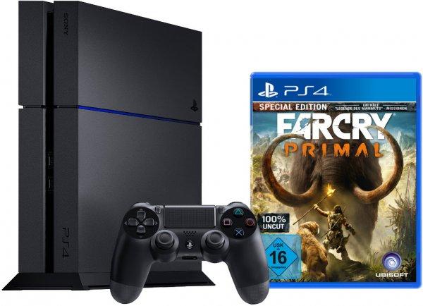 [notebook.de] Sony PlayStation 4 (PS4) 1TB CUH-1216B + Far Cry Primal Bundle für 399€