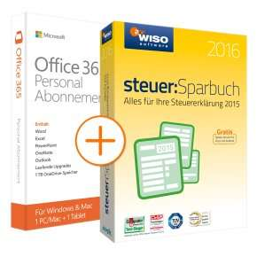[NBB] Office 365 + WISO Steuersparbuch 2016