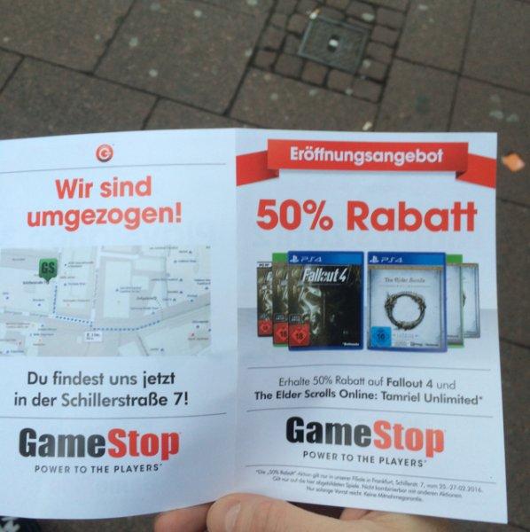 Lokal Frankfurt Fallout 4 & The Elder Scrolls Online