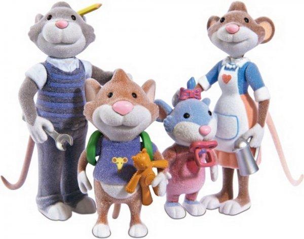 [Amazon Prime] LEO Lausemaus Figurenset Familie für 9€