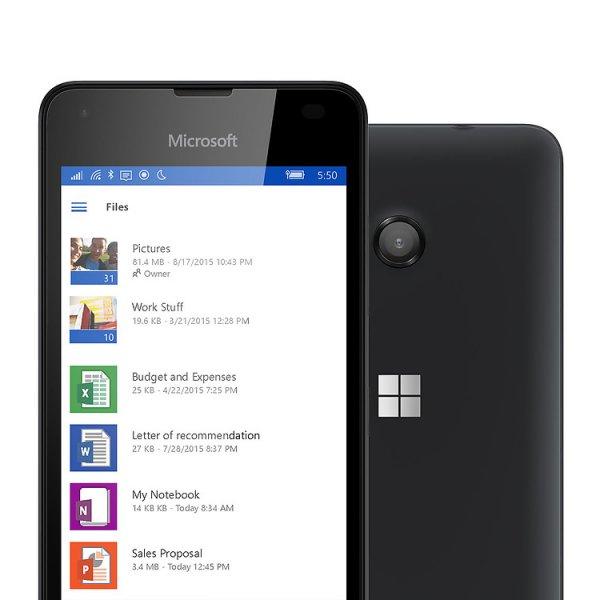 [Amazon Blitzangebot] Lumia 550 Windows 10 in schwarz
