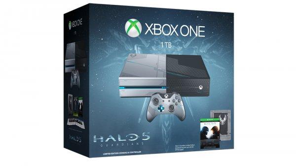 Xbox One 1TB + Halo 5 für 402,99 € inkl. Versand