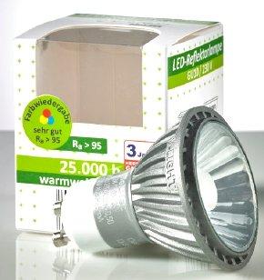 Lokal: Aldi Bochum Bessemerstr. 85 - LED Leuchtmittel, teilweise mit Ra > 95, für € 2,--