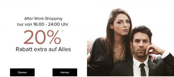(vorbei) Preisfehler bei Dress4Less - 36 % Rabatt statt 20 % bis 25.02.16 - 24 Uhr