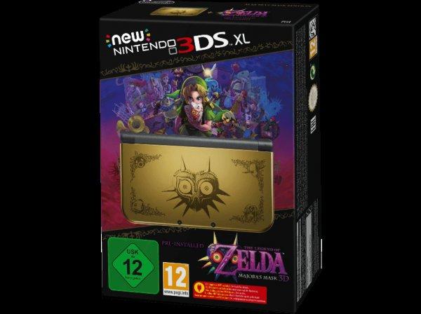 New Nintendo 3DS XL Majora´s Mask Edition für 251,99€ (247€ Filialabholung) - Media Markt