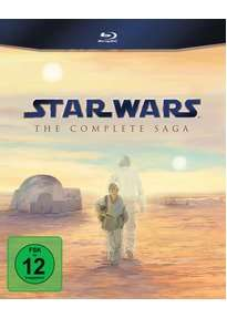[reBuy] Star Wars: The Complete Saga I-VI (9 Discs) Blu ray in deutsch für 75,99€ (Zustand: sehr gut) + 12% Qipu - alternativ UK-Version für 77,25€