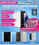LG N1T1DD1 NAS 1.0TB 1x1.0TB, DVD-Brenner