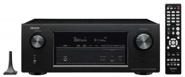 Denon AVR X3200W 7.2 AV-Netzwerk Ultra-HD Receiver Schwarz (Comtech)