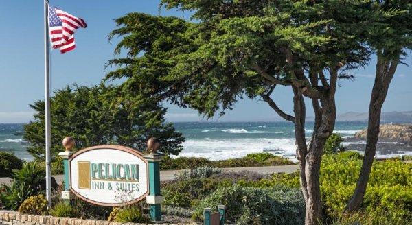 Übernachtung im Pelican Inn & Suites, Cambria (CA) für 53€