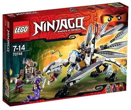 LEGO 70748 Ninjago - Titandrache für knappe 21€ + doppelt Payback   43% < PVG