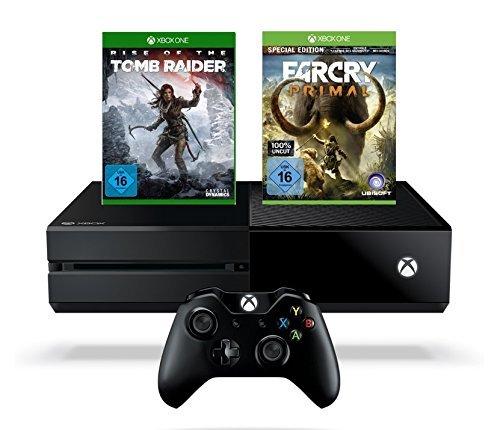 [Amazon.de] Xbox One 1TB + Rise of the Tomb Raider + Far Cry Primal (100% Uncut)