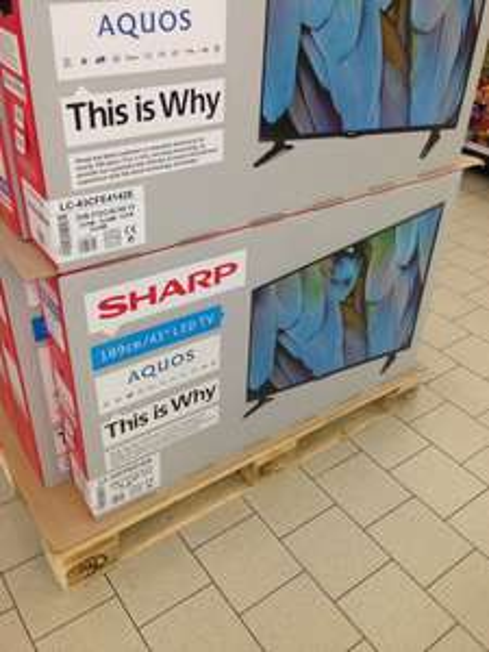 Sharp LC-43CFE4142E  - 43 Zoll LED TV für 279€ Bei Kaufland Duisburg Mitte