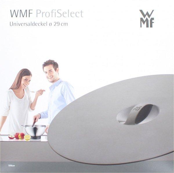 WMF Universal-/ Frischhaltedeckel Grau 29 cm für nur 0,12€ zzgl. 3,90€ Versand