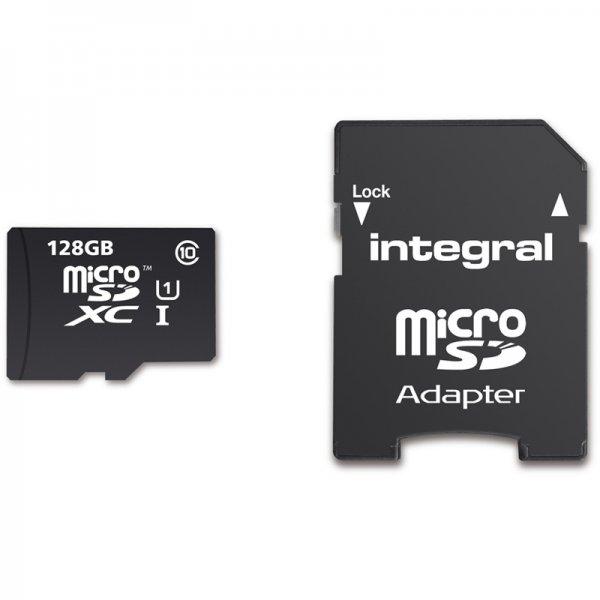 Integral 128GB microSDXC für 33,33€ @mymemory.de