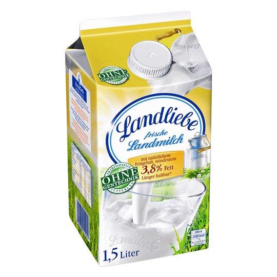 [Kaufland BW+, KW09] Landliebe Milch 1,5 L mit 37% Ersparnis (Angebot + Coupon)