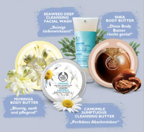 [The Body Shop] 29% Rabatt auf ausgewählte Produkte bis zum 29.2!