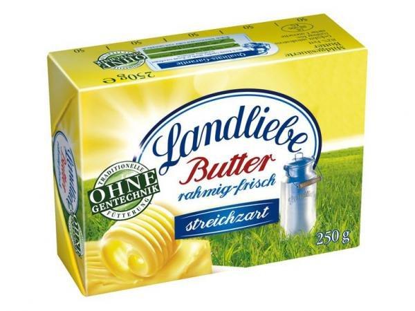 [Kaufland, KW09] Landliebe Butter mit 49%-55% Ersparnis (Angebot + Coupon)
