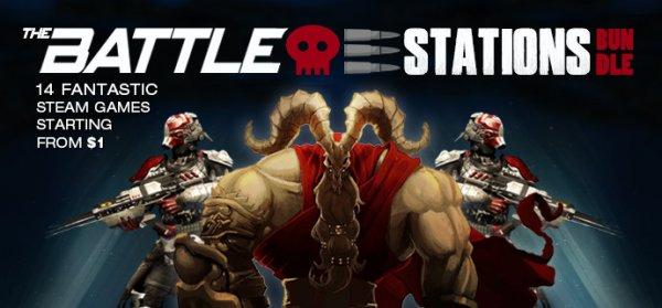 [Steam] The Battle Stations Bundle (14 Spiele, teilweise Sammelkarten) ab 0,92€ @ indiegala