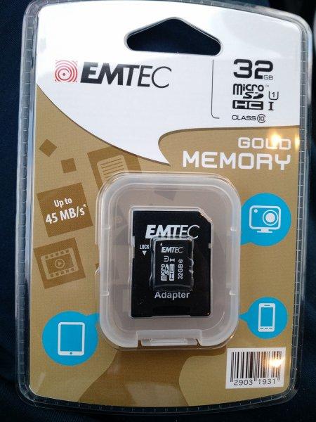ALDI Nord - EMTEC 32 GB¹ microSDHC-Speicherkarte - Class 10 UHS-I