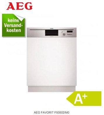 Geschirrspüler A+ integrierbar AEG FAVORIT F50502IM0